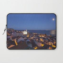 Moon over Lisbon Laptop Sleeve