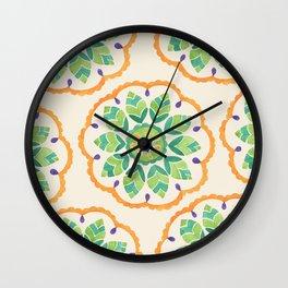 Dream Catcher by Sandy Thomson Wall Clock