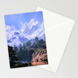 Our beloved mountains Stationery Cards