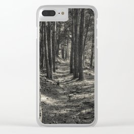In the forest #2 Clear iPhone Case