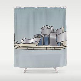Guggenheim Museum of Bilbao Shower Curtain