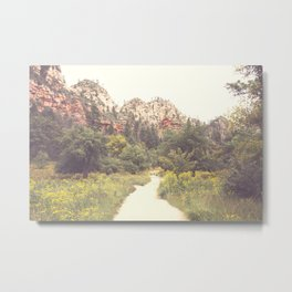 Colors of Sedona Metal Print