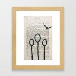 Quidditch! Framed Art Print