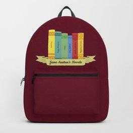 The Jane Austen's Novels III Backpack