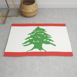 Lebanon flag emblem Rug