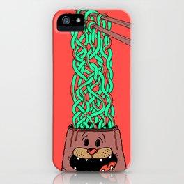 Noodle-Brains iPhone Case