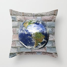 This ain't no Party - Save the Earth Throw Pillow