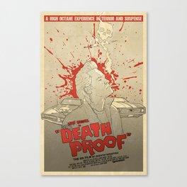 Death Proof Canvas Print