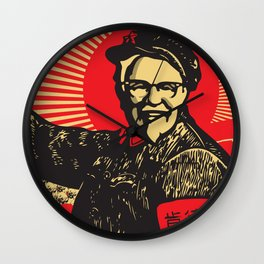 Chairman Sanders Wall Clock