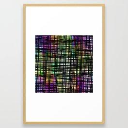 DP035-6 Colorful striped Framed Art Print
