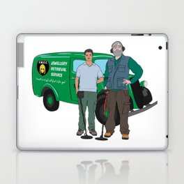 Russell & Hugh Jewellery Retrieval Service - DMDC - Detectorists Laptop & iPad Skin