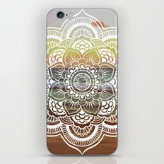 Beach Sunset Mandala iPhone & iPod Skin