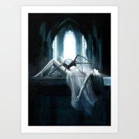 demon Art Prints featuring Demon by Joe Roberts