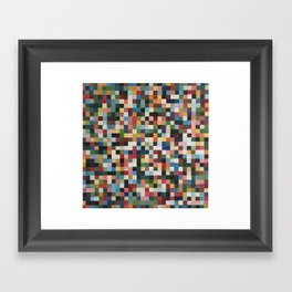 Pixels 3 Framed Art Print