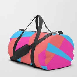 Geometric abstract Duffle Bag