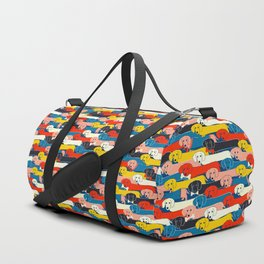 COLORED DOGS PATTERN 2 Duffle Bag