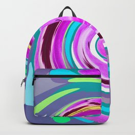 Purple twirl Backpack