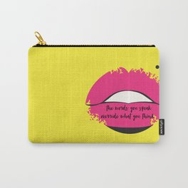 Lips of Wisdom Carry-All Pouch