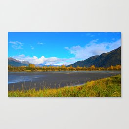 Fall at Portage Creek Canvas Print