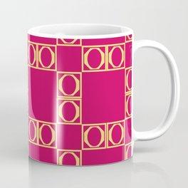 angle red & yellow Coffee Mug