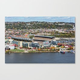 Heinz Field During a Steelers Game Canvas Print