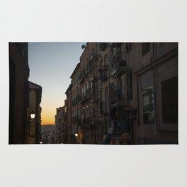 Romanticism in Madrid Rug