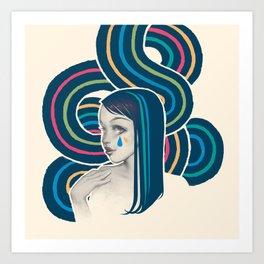 WaterWave Art Print