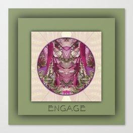 Engage Manifestation Mandala No. 7 Canvas Print
