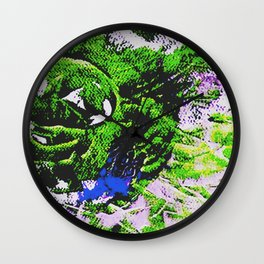 Der Narr Nr. 4 Wall Clock