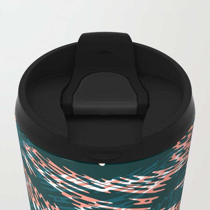 "TIGUE ""PEAKS"" inside Metal Travel Mug"