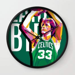 Larry Bird Wall Clock