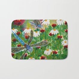 Dusk In The Garden Bath Mat