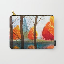 Autumn scenery #5 Carry-All Pouch