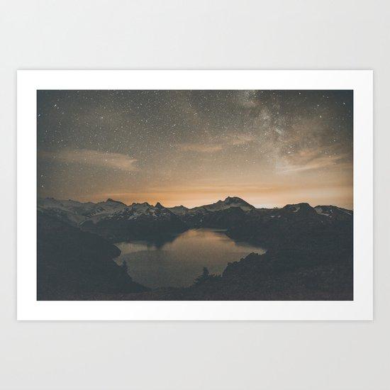 Garibaldi Milky Way II Art Print