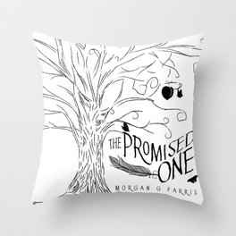 The Promised One (The Chalam Færytales, Book I) Throw Pillow