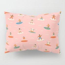 Surf kids Pillow Sham