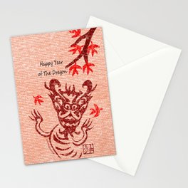 Year of the Dragon Traditional Stationery Cards