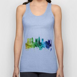 Atlanta Georgia Skyline Unisex Tank Top