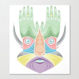 DR GREEN THUMB Canvas Print