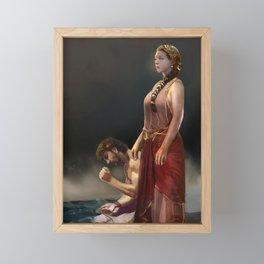 "Calypso(""Charm of of the Ancient Enchantress"" Series) Framed Mini Art Print"