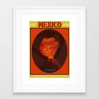 mexico Framed Art Prints featuring Mexico by TheGretest