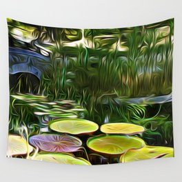 Greenery Pond Wall Tapestry