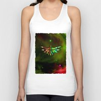 triforce Tank Tops featuring Zelda Triforce  by Inara