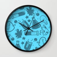science Wall Clocks featuring SCIENCE!  by Neat Good Job!