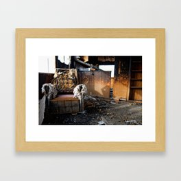 The Lounge Framed Art Print