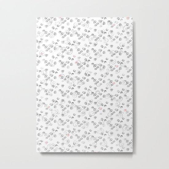 White Night Metal Print