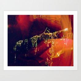 City Energy Art Print