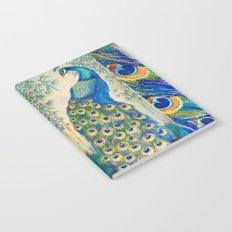 Blue Peacocks Notebook