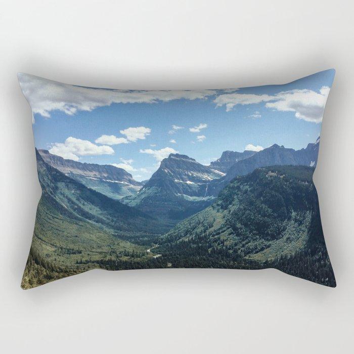 Glacier Valley Rectangular Pillow