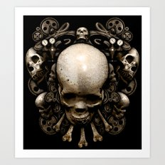 Man Or Machine Art Print